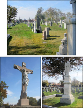 History of St. Peter's Cemetery in Philadelphia, PA
